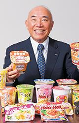 エースコック株式会社 代表取締役社長 村岡 寛