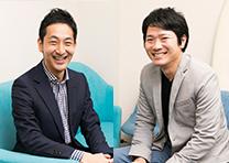 iYell株式会社 代表取締役社長 兼 CEO 窪田 光洋 / 株式会社情熱 取締役 矢間 啓介